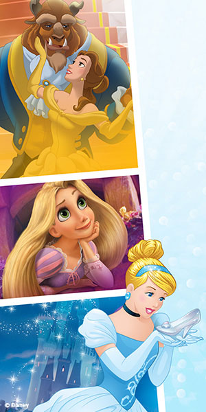Collection Disney Princesse Visuel dessin animé