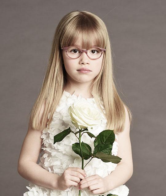 lunettes fille tartine et chocolat