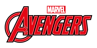 Logo slider Avengers color