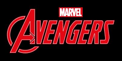 Logo slider Avengers color