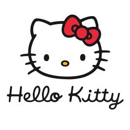Logo marque Hello Kitty