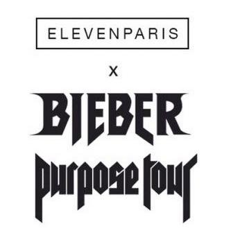 Actus logo Elevenparis et Justin Biebier