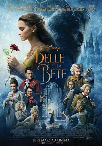 Actus affiche La Belle et la Bête France