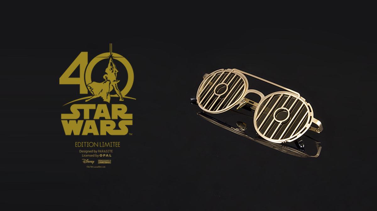 Lunettes Star Wars Collectore 40 Ans