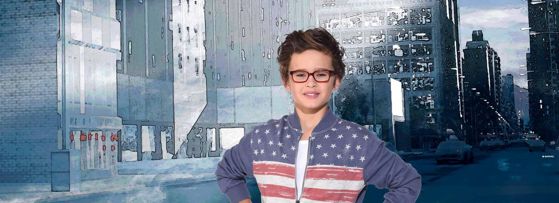 lunettes garçon