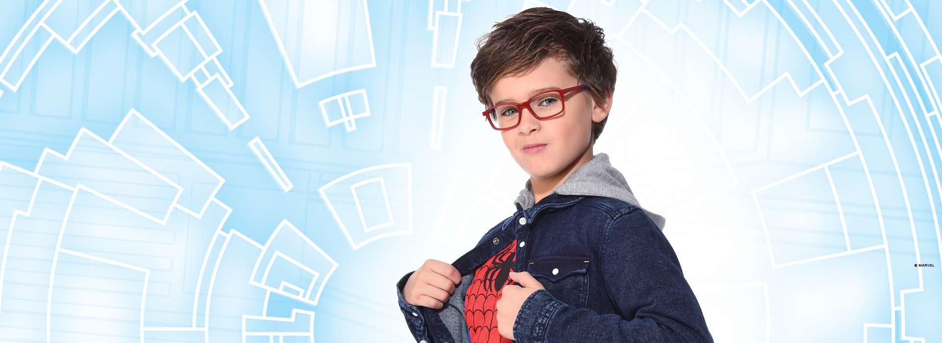 lunettes pour garçon spiderman
