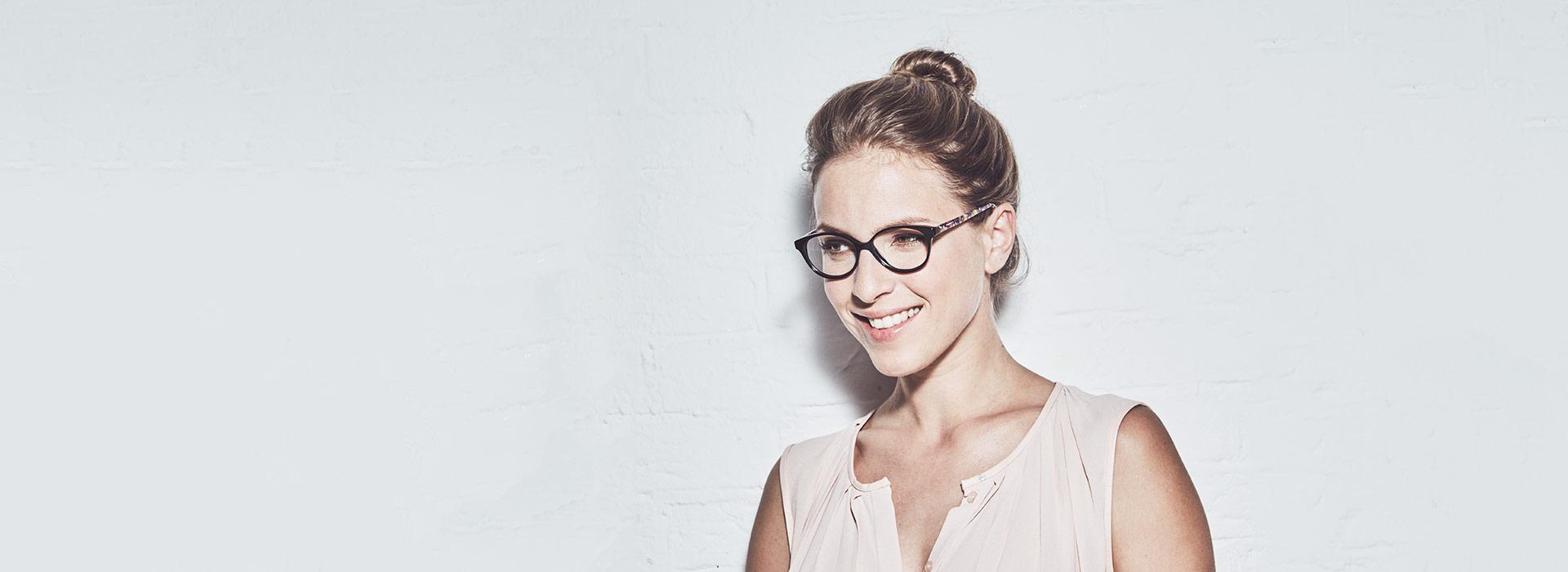 lunettes noires femme