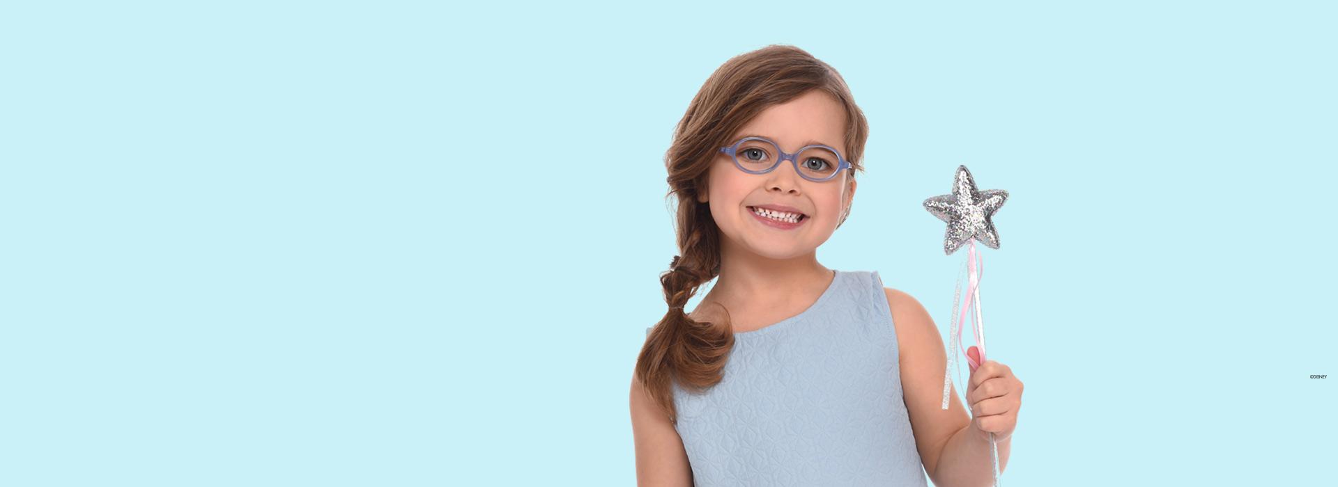 lunettes pour fillette