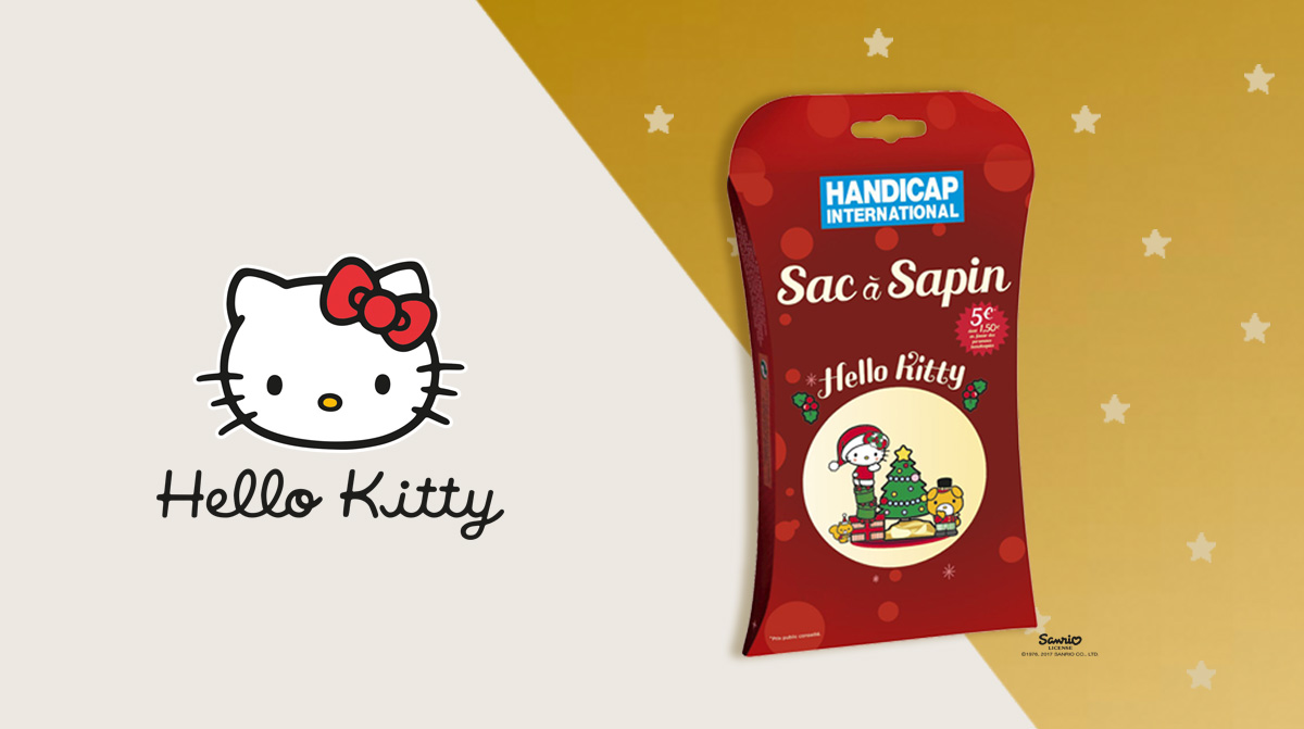 HELLO KITTY : SAC A SAPIN
