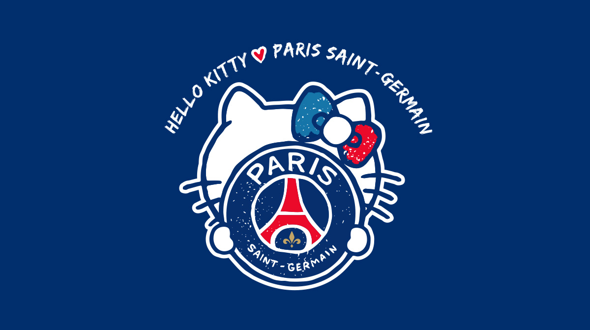 La Nouvelle Collaboration Entre Le PSG Et Hello Kitty