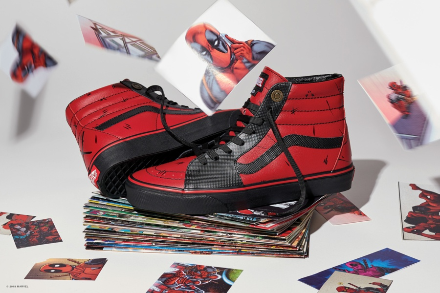 Vans et Marvel signent ensemble une collection exclusive