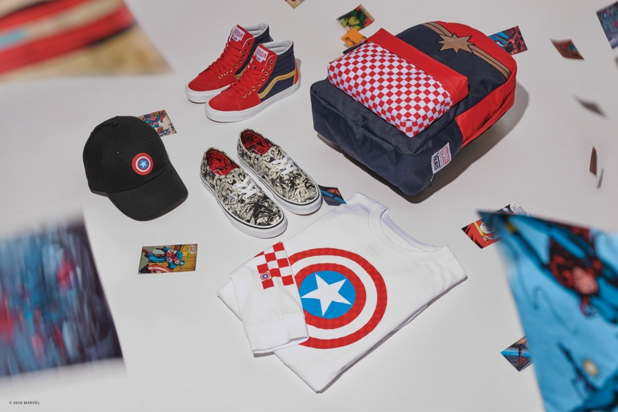 9de90b732473 Children and toddlers also have Vans x Marvel shoes designed especially for  them. Catch Spiderman if you can on the Sk8-Hi Zip and try to find Baby  Groot in ...