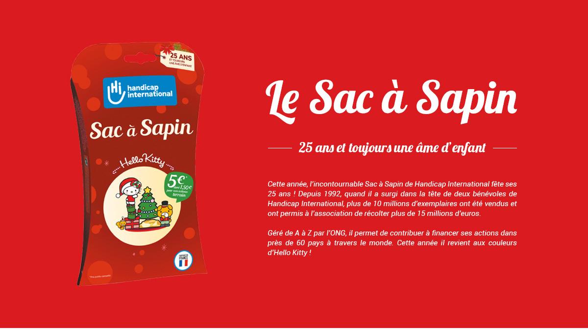 Le Sac à Sapin, 25 Ans Et Toujours Une âme D'enfant !